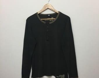 Dolce Gabbana Men's Undershirt/D&G Longsleeve Inner Shirt/Green/Size S