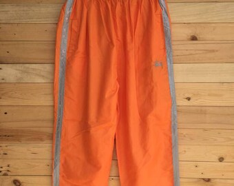 """Rare! Vintage Stussy Sweatpant / Joggerpant Made in USA Size 25""""~38"""""""