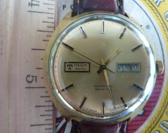 Vintage Tissot Automatic SeaStar Watch - Rare Dial