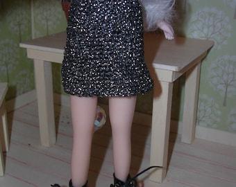 BLYTHE (Takara body) glitter skirt