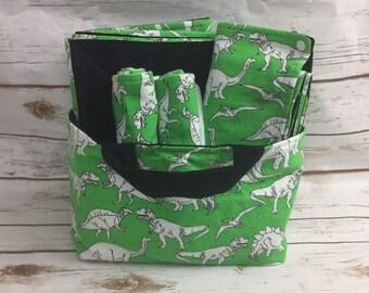 Dinosaur Baby Shower Gift Basket - Baby Boy Dinosaurs - Dinosaur Baby Shower