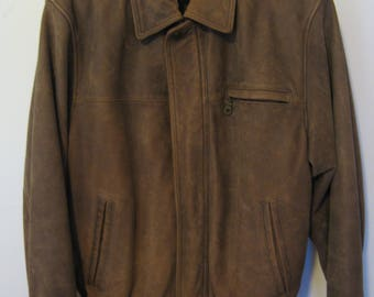 Roundtree And Yorke Leather Jacket
