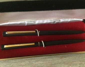 Vintage Pen and Pencil set, pierre Cardin Pen and pencil set, Home and Living, Collectibles, Office Pens,