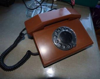 vintage rotary phone Респром (Resprom) TA-900 1989