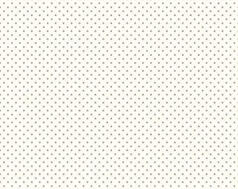Riley Blake Swiss Dot Cotton Quilting Fabric Gray