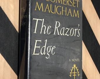 The Razor's Edge by W. Somerset Maugham (1944) first edition book