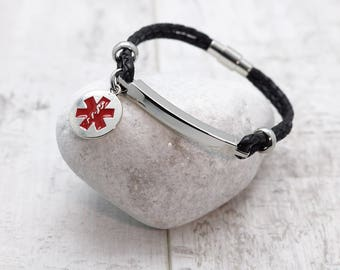 Medical ID Bracelet - Various Sizes Available