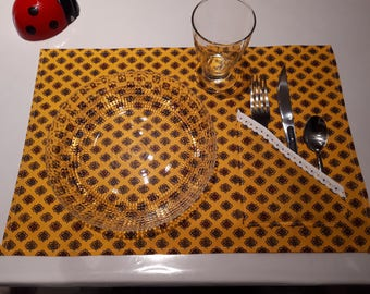 Provence fabric placemat
