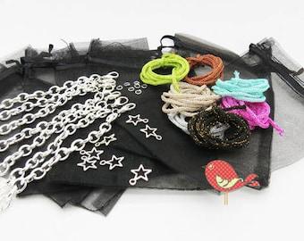Mega kit 7 bracelets cords