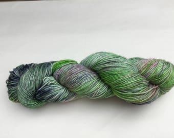 Hand dyed 4ply Sock wool - Merino/nylon/stellina