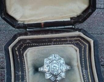 14k Gold Diamond Wedding Engagement Ring