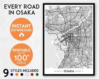 Japan Map Etsy - Japan map 9