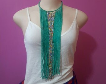 maasai necklace / beaded necklace / tribal necklace / african necklace