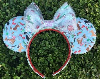 Chihuahua Christmas Mouse Ears