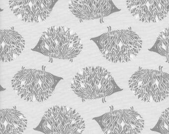 One Yard Cut - Prickles in Grey - Sleep Tight by Sarah Watts for Cotton + Steel -  Quilters Cotton- Fabric by the Yard