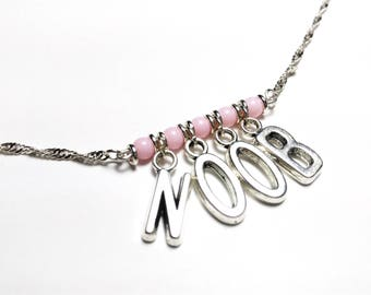 Geek - elegant NOOB necklace