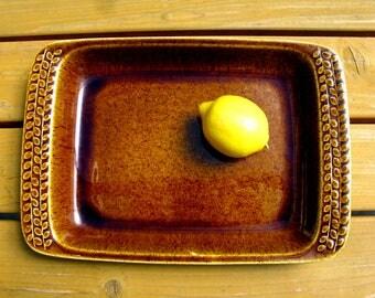 60s / Rörstrand Sweden SAHARA Casserole Dish / Serving Dish / Ovenware / Baking Pan / Designed by Harry Stalhane / Art Pottery / Modern Mint