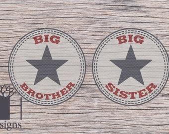 Big Sister/Brother Converse SVG
