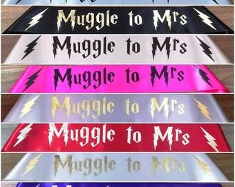 Muggle to Mrs Hen's Night Sash