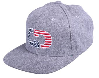 GIMMEDAT Patriot Flat Bill Hat - Free Shipping!
