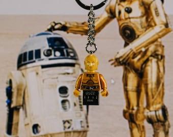 C3PO Lego keychain USB stick (SanDisk)