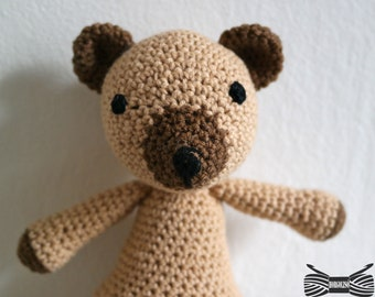 Crochet Tubby Bear Amigurumi