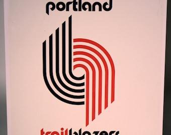 Classic NBA Sports Tin- Portland Trailblazers