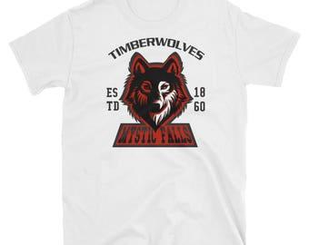 vampire dairies mytic falls Short-Sleeve Unisex T-Shirt