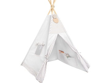 Tipi - Kids Play Tent Teepee - Cinnamon Dust