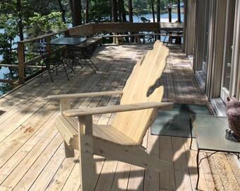 Contour Style - Michigan Adirondack Chair (x1) - Outdoor Furniture
