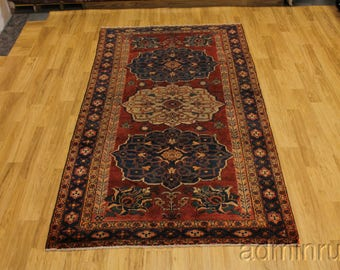 Rare Outstanding Antique Mahal Arak Persian Oriental Area Rug Carpet Sale 5X10