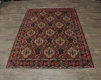 Amazing Garden Design Antique Bakhtiari Persian Area Rug Oriental Carpet 7X10