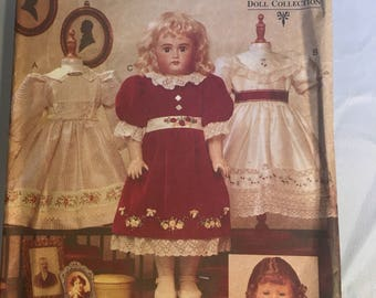 "7163 Vogue Craft 18"" Heirloom Doll Clothes Teresa Layman Designs Vogue Doll Collection"