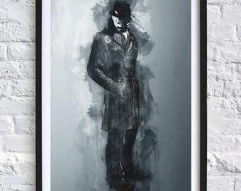 Watchmen - Rorschach 'Watercolor' A4 Print