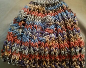 Adult Crochet Cable Hat