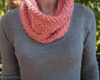 Cowl - Snood - infinity scarf - Womens cowl - Knit cowl  - Knit snood - Knit scarf - Circle scarf -Neck warmer