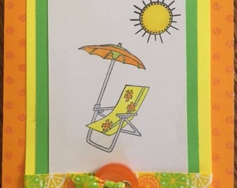 Wishing You A Day Bright With Sunshine - Orange