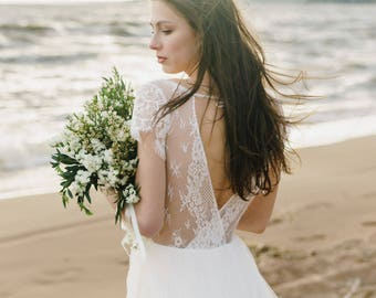 "Wedding dress  ""Sea breeze"""