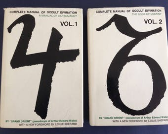 Complete Manual Of OCCULT Divination by Grand Orient ( A.E. WAITE ) 2 VOLUME set