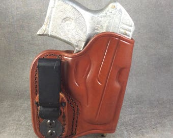 Ruger LCP Concealed IWB Tuckable Leather Holster