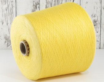 600g cotton yarn on cone, Italy/cotton yarn (Italy) on Cone, Sun: Y001093
