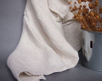 Linen Bath Towel, Face, Bath Towel, White Linen Towel, Linen Gift