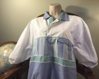 1980's Polo Colorful 80s 90s clothing fresh prince vintage polo