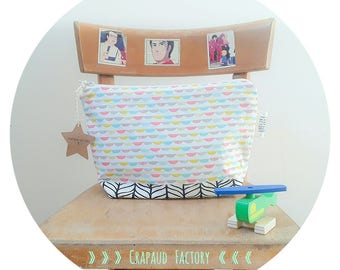 Pampered baby toiletry case