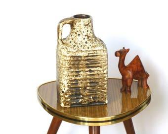 Carstens Tonnieshof Vase 7785 / 20 Fat Lava Crusty Glaze ceramics West German Pottery glaze 60s 70s Retro Vintage Design home decor