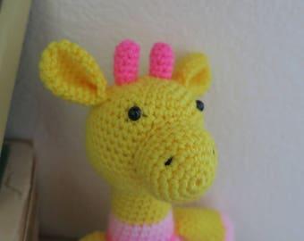 Crochet Giraffe Baby Girl