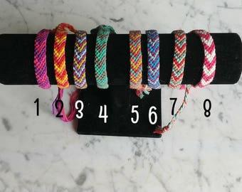 Handmade friendship bracelets   Macrame bracelets   Knotted bracelets   Pattern bracelet   Textile bracelets   Festival bracelets