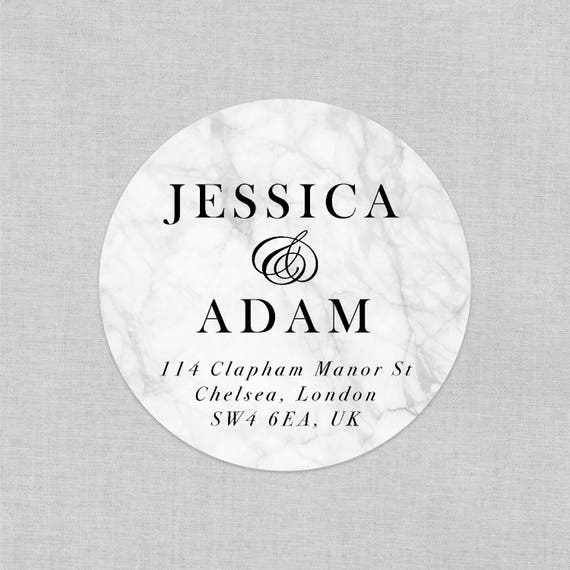 Modern return address labels, Wedding gift ideas for couple, Personalized stickers, Wedding favor stickers personalized, Mr and mrs stickers