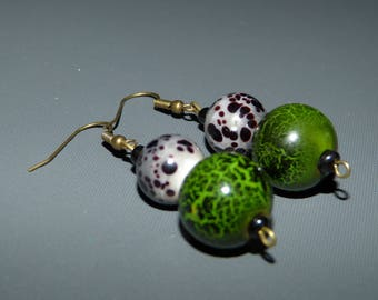 BO wood & glass beads