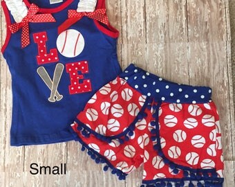 Baseball Love Outfit
